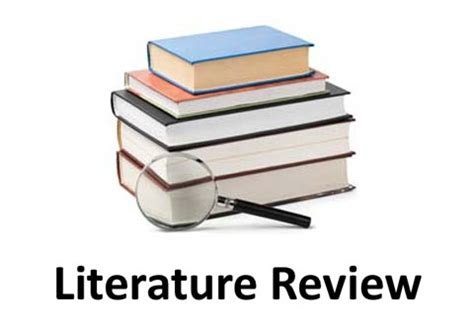 How to Write a Literature Review - Advice for graduate